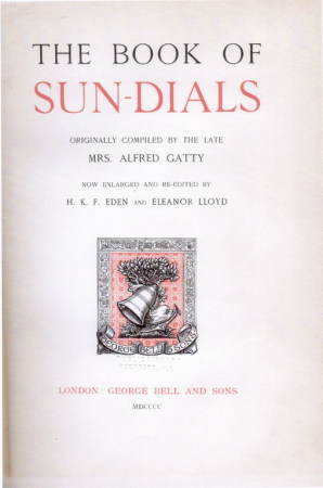 The Book of Sun_Dials